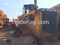 Used original affordble Komatsu  crawler bulldozer D155 for sale