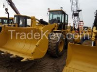 Used cheap hydraulic CAT wheel loader 950GC in good condition for sale