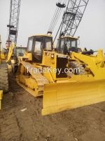 Used cheap hydraulic CAT crawler bulldozer D4H in good condition for sale