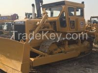 Used cheap hydraulic CAT crawler bulldozer D6D in good condition for sale
