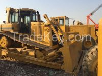 Used cheap hydraulic CAT D6H crawler bulldozer in good condition for sale