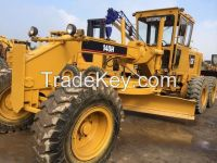Used cheap hydraulic CAT motor grader 140H in good condition for sale