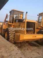 Used cheap hydraulic CAT wheel loader 966F in good condition for sale