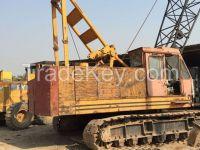 Used original affordable Hitachi crawler crane KH180 for sale