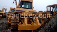 Used cheap hydraulic CAT crawler bulldozer D7H in good condition for sale