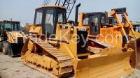 Used cheap hydraulic CAT crawler bulldozer D5H in good condition for sale