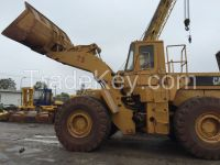 Used cheap hydraulic CAT wheel loader 980F in good condition for sale