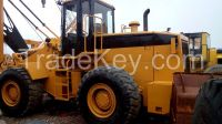 Used cheap hydraulic CAT wheel loader 966E in good condition for sale