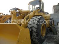 Used cheap hydraulic CAT wheel loader 966F-II in good condition for sale