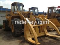 Used cheap hydraulic CAT wheel loader 966C in good condition for sale
