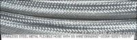 STAINLESS STEEL FLEXIBLE STEAM HOSE SS WIRE BRAIDED
