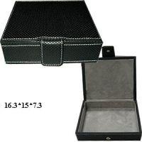 Sell leather cufflink box