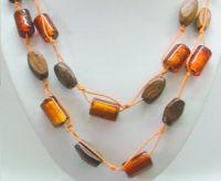 Sell Long Necklaces, Glass bead Long Necklaces India