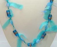Sell Fabric necklace, Fashion fabric necklaces India