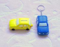 Sell PU Stress Car key chains