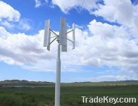 Sell 500w Vertical Axis Wind Turbine