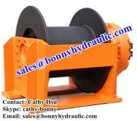 Sell hoisting hydraulic winch
