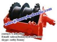 Sell double drum hydraulic winch