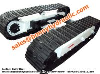 Sell steel track undercarriage for construction and mining machinery