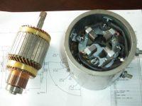 Customized DC motor, car Starter-Generator