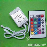 Sell 24 Keys IR RGB LED Remote Controller