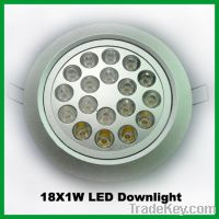 Sell 18W LED Recessed Ceiling Downlight