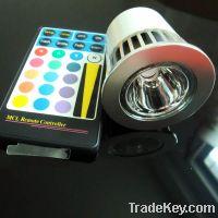 Sell GU10 5W RGB LED Spot Light
