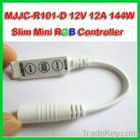 Sell NEW Slim Mini RGB LED Strip Controller 12V 12A
