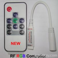 Sell RF Mini RGB LED Remote Controller
