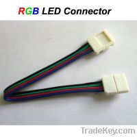 Sell 10MM/12MM RGB LED Strip Middle Connector without soldering