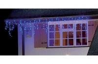 160 Blue LED Snowing Icicle Lights,christmas lights