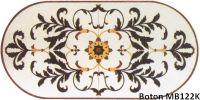 Sell oval medallion waterjet mosaic pattern - MB122K