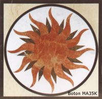 Sell Square Waterjet Medallion Inlay Mosaic Pattern