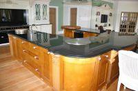 Sell pre-fabricate quartz kitchen countertop cabinet top - CP009