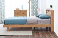 White Oak Single Bed