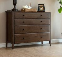 Red Oak 4 Chest of Drawers