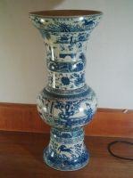 Sell Blue-and-white Porcelain Vase