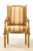 Sell Louis XVI Armchair with Rectangular Backrest