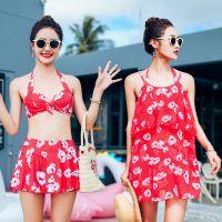 8113 Women beach dress bikini cover up three-piece swimsuit sexy bikini