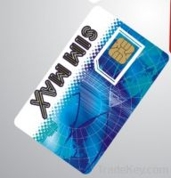 contact smart card with SLE5542 chip