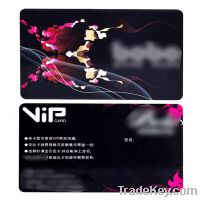 VIP card with Both Size Printing by Germany Heidelberg Four-color Offs