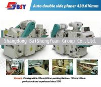 woodworking machine double side planer