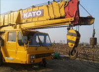 Sell Used Kato 55Tons Truck Crane