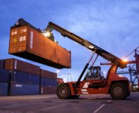 Sell used kalmar container handler 42tons