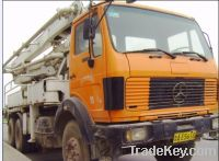Sell Used Benz Concrete Pump Truck