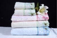 Sell 100%cotton bath towel with border
