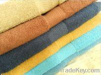 towel, soft satin 100% cotton towel