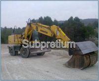 Sell used Komatsu PW 170 ES excavator