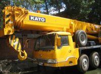 used KATO 55ton truck crane, KATO NK550VR mobile crane, used crane