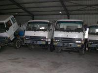 Mitsubishi mixer, original truck mixer, good working Mitsubishi mixer